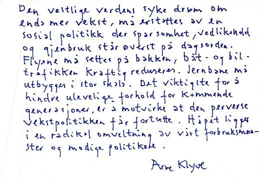 Arne Klyve