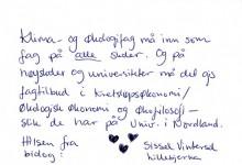 Sissel Vintersol Lillebjerka
