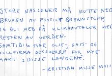 Kristian Misje Mossige